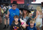Mike McCready and family at Sasquatch 2015! Photo by John Lill