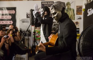 Ghost performs at Silver Platters. (Photo: Alex Crick)