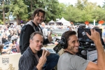 Melodic Caring Project's Steve Glum, Peter Bowers & Levi Ware at Marymoor Park (Photo: Greg Roth)