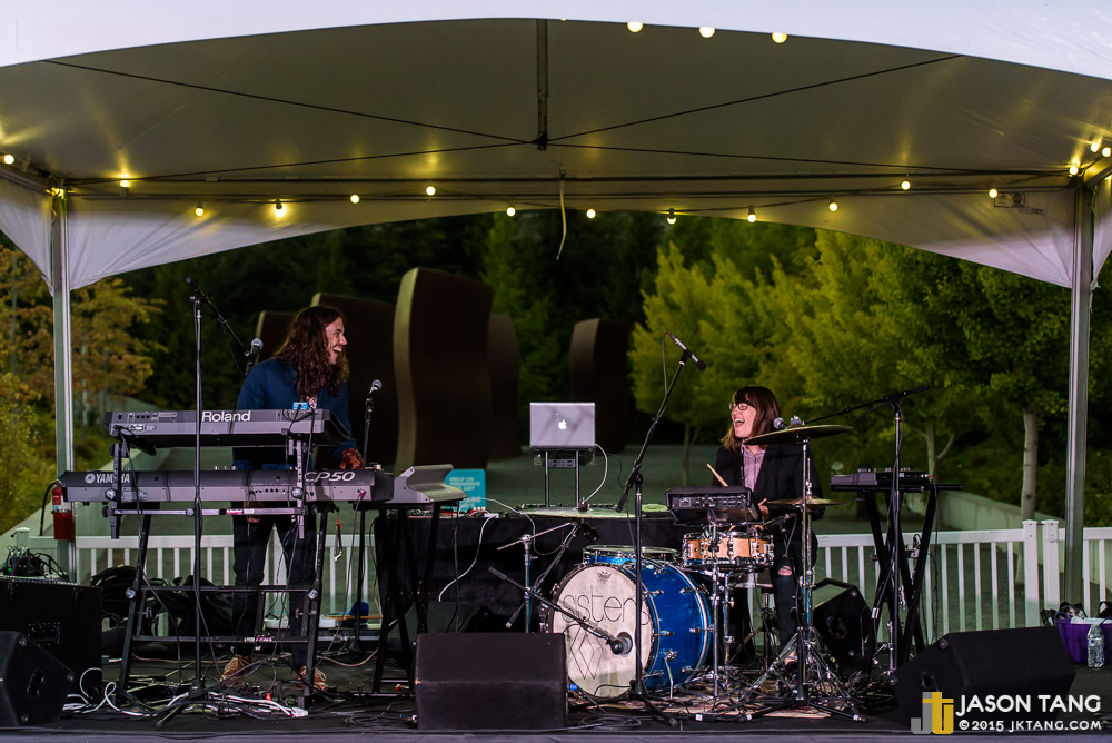 SISTERS at SAM Remix / Olympic Sculpture Park presented by Seattle Secret Shows (Photo: Jason Tang)