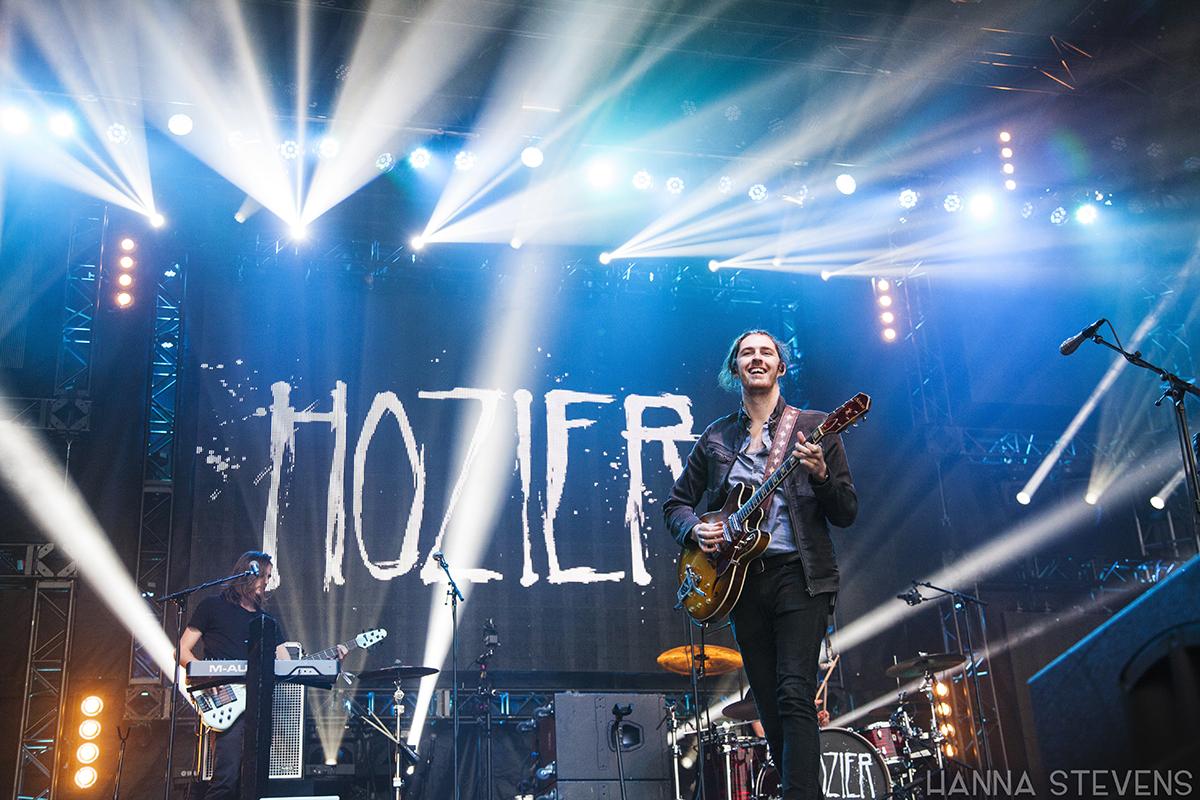 Hozier at Bumbershoot 2015 (Photo: Hanna Stevens)