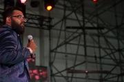 Yogi Paliwal performs at SASQUATCH! (Photo by Matthew Lamb)