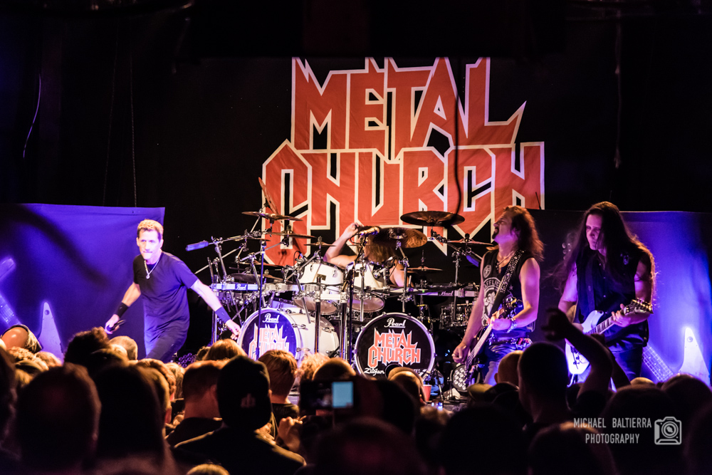 Metal Church at Studio 7 (Photo by Mike Baliterra)