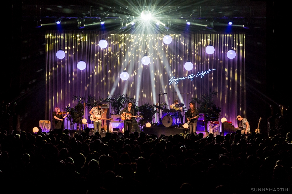 The Head and the Heart at Paramount Theatre (Photo: Sunny Martini)