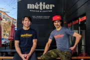 Todd Herriott and Dave Richter at Métier