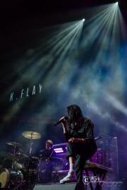 K Flay @ KeyArena 10-6-17 (Photo By: Mocha Charlie)