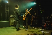 Blue Helix at Louie G\'s Pizza (Photo: Mike Baltierra)