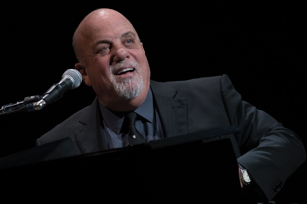 Billy Joel performs at the Moda Center in Portland. (Matthew Lamb / MatthewLambPhotography.com)