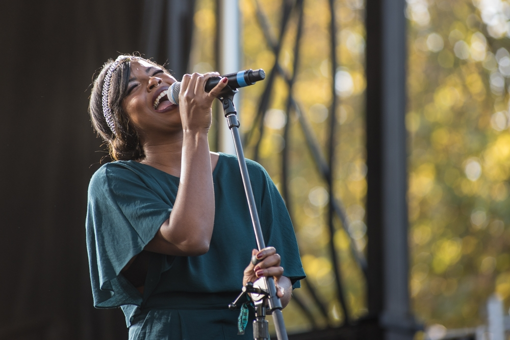 Shaprece at Bumbershoot (Photo by Christine Mitchell)