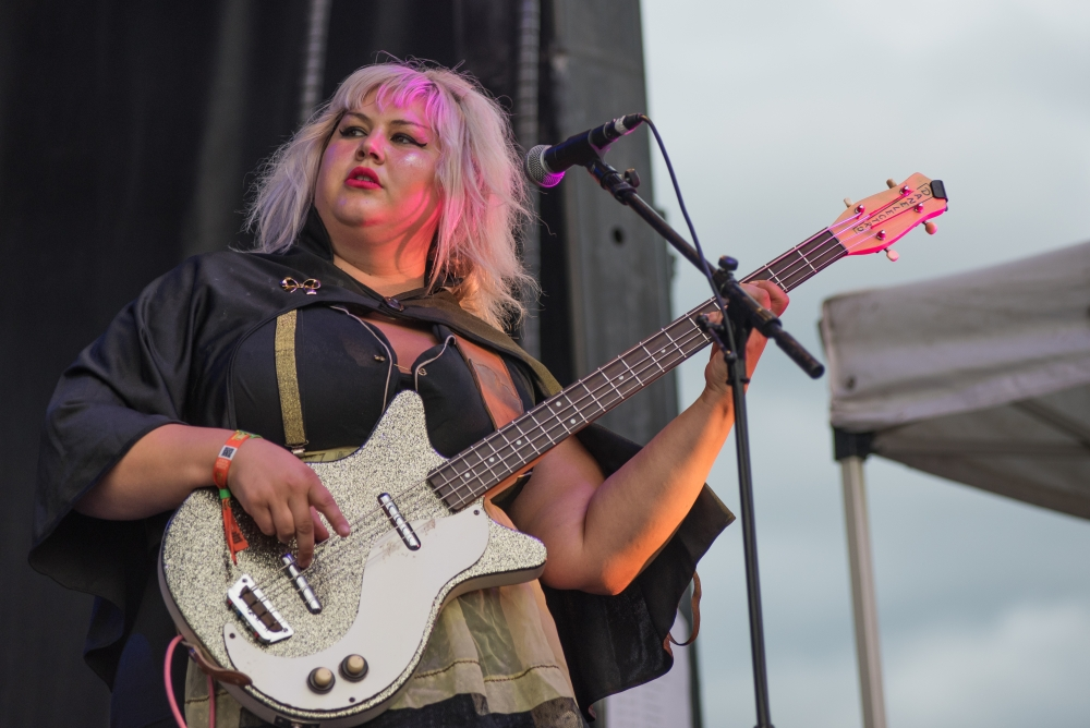 Shannon and The Clams at Sasquatch! (Photo by Christine Mitchell)