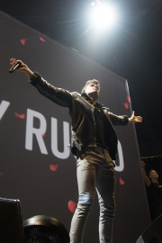 Anthony Russo at Agganis Arena Boston (Photo by Arlene Brown)