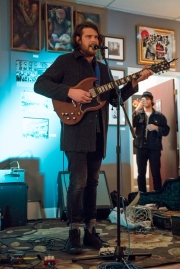Leava at Black Lab Gallery (Photo by Christine Mitchell)