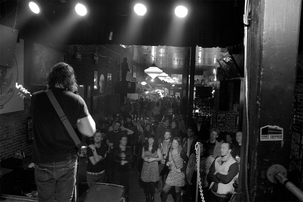 Leava at The Central Saloon (Photo by Ryan Alexander)