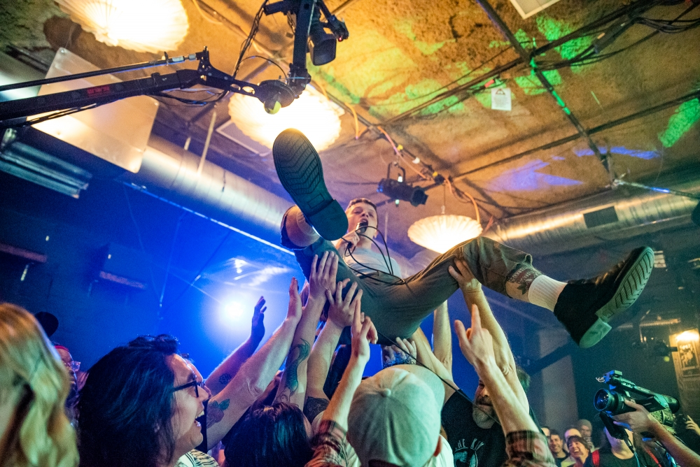 Monsterwatch at Band In Seattle (Photo by Christine Mitchell)