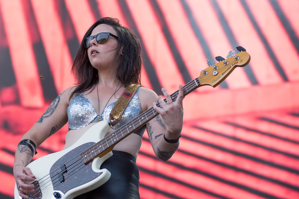 Leah Julius at Sasquatch (Photo by Christine Mitchell)