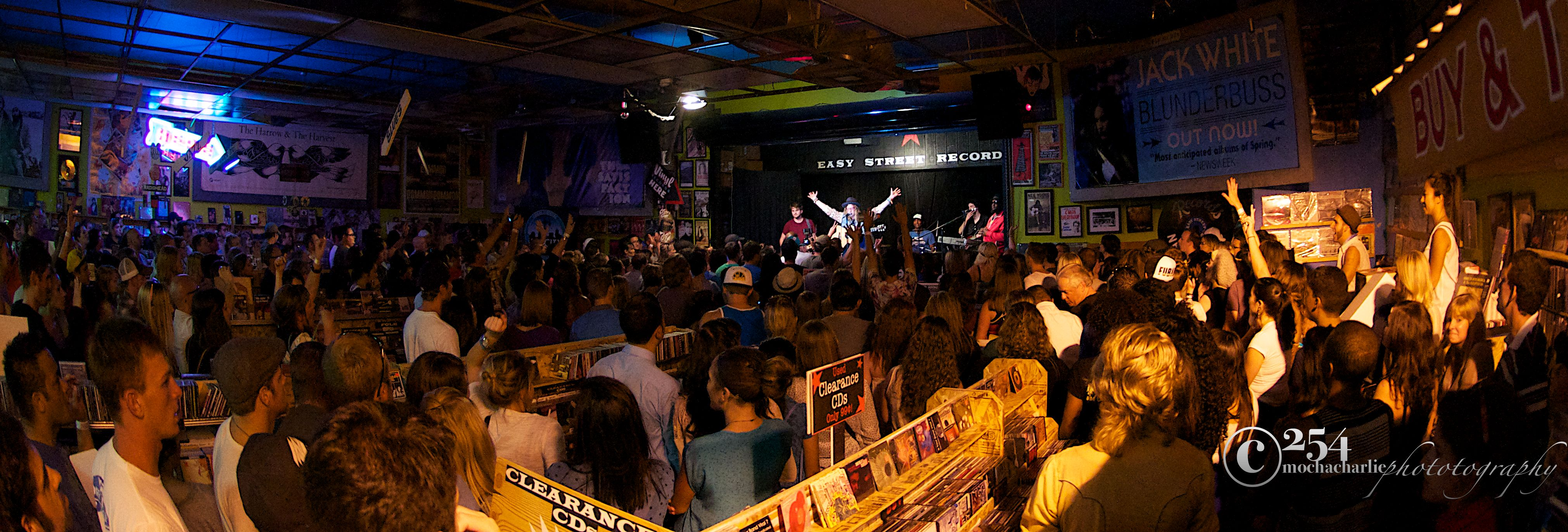 Allen Stone @ Easy Street Records on 8/22/12 (Photo By Mocha Charlie)