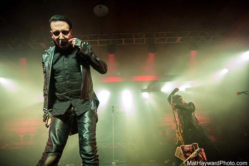 Marilyn Manson Live @ Shobox Sodo (MatHaywardPhoto.com)