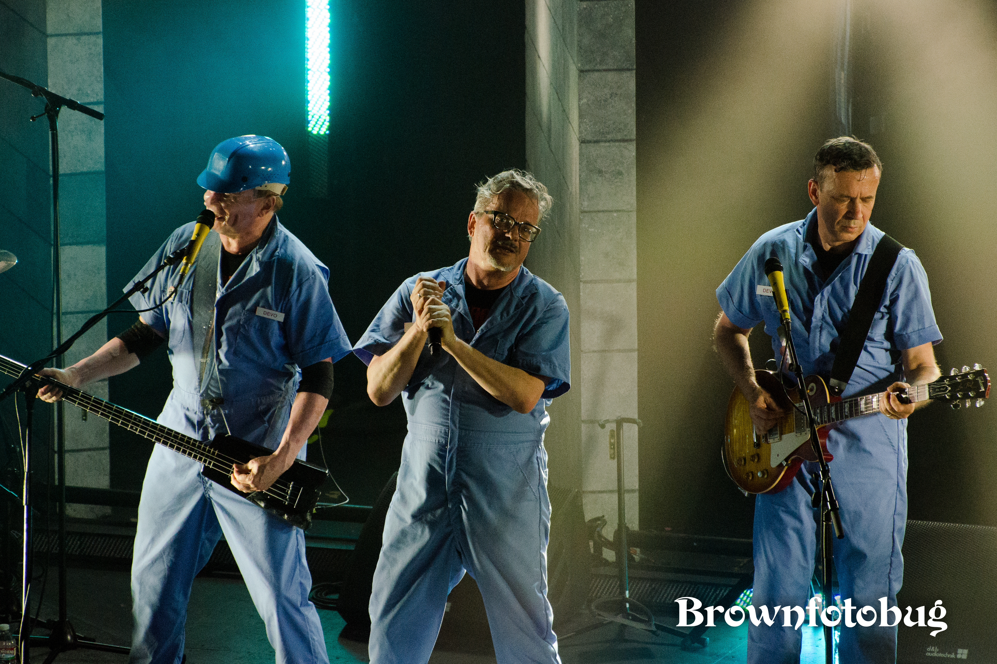 DEVO at The Neptune (Photo by Arlene Brown)