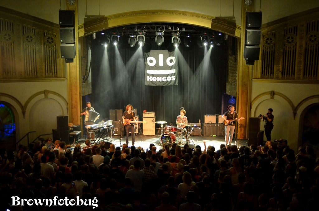 KONGOS at the Neptune (Photo by Arlene Brown)
