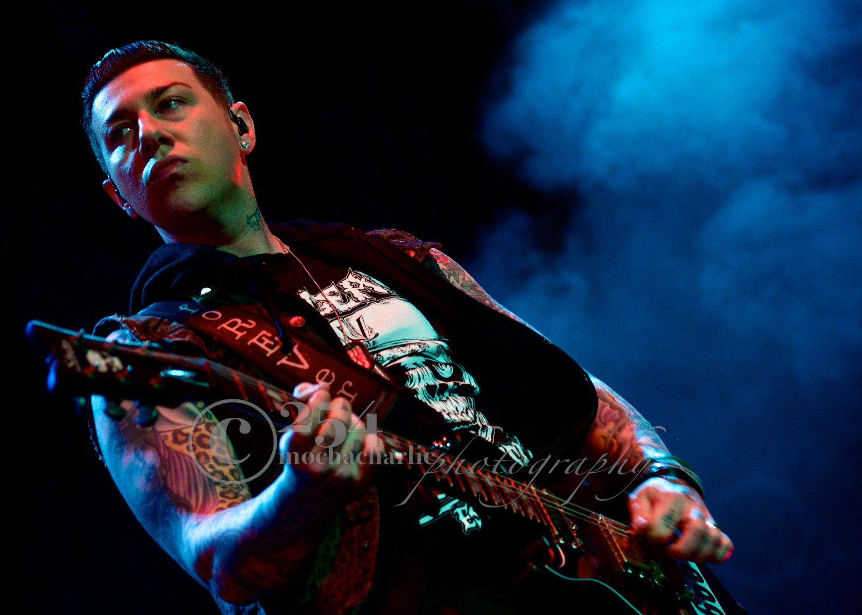 Avenged Sevenfold at Mayhem Festival (Photo by Mocha Charlie)
