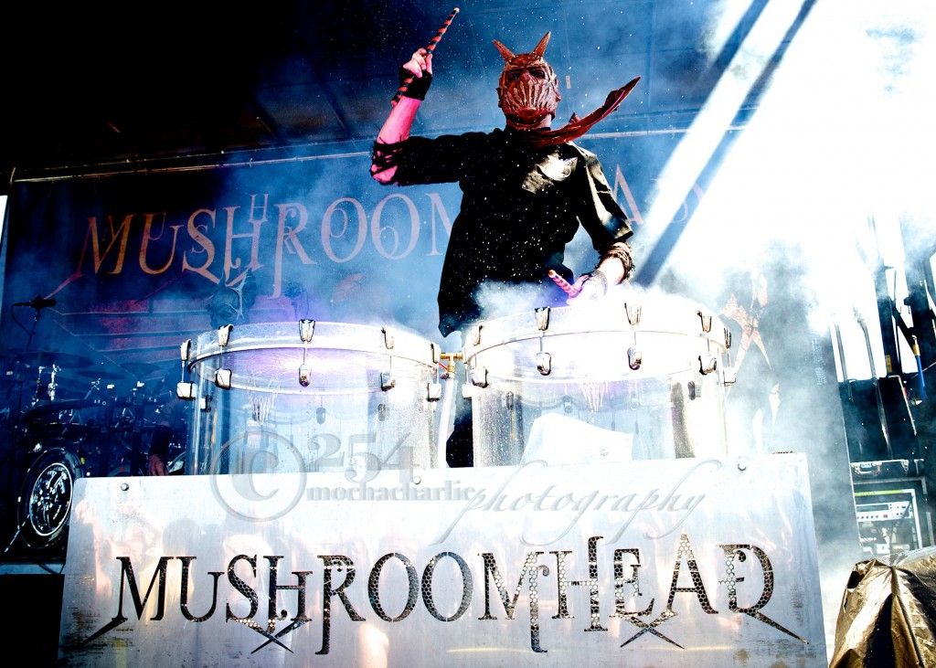 Mushroomhead at Mayhem Festival (Photo by Mocha Charlie)