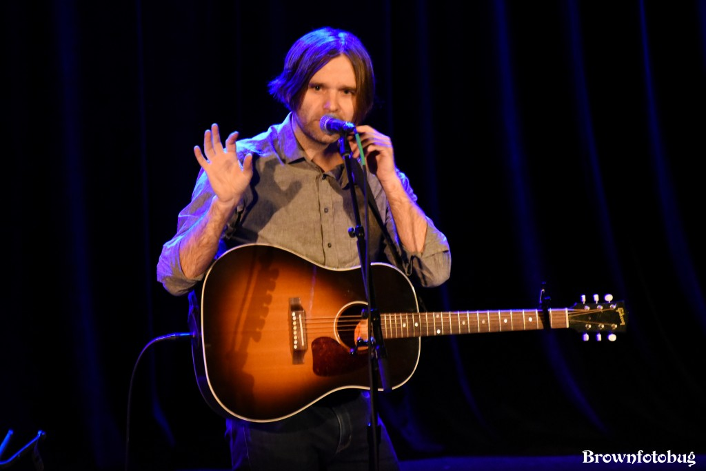 Ben Gibbard at Neptune Theatre (Photo by Arlene Brown)