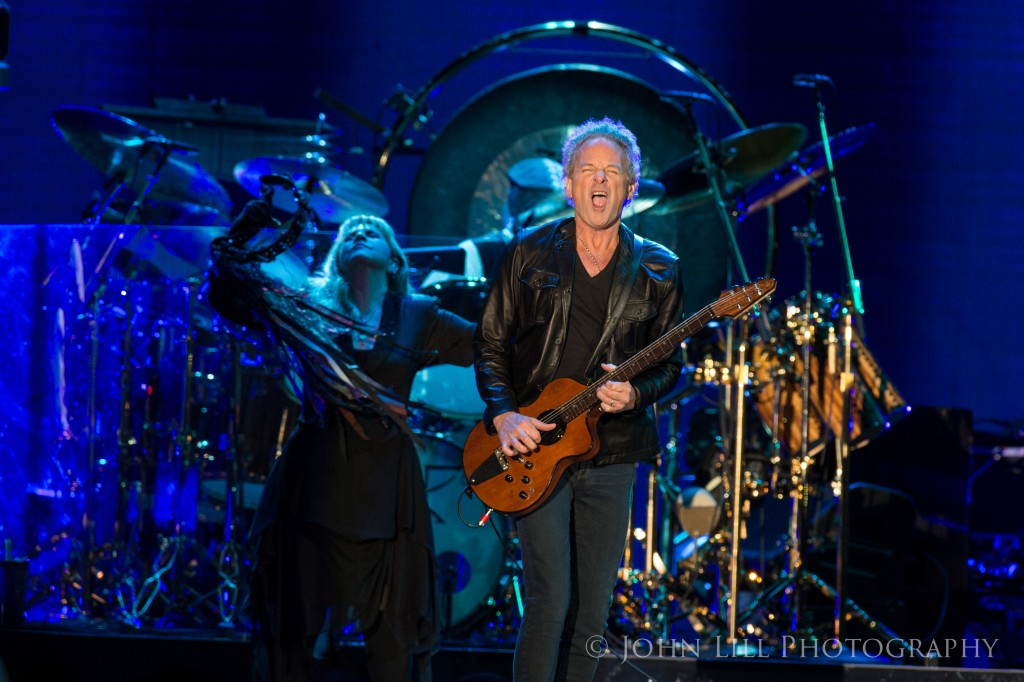 Fleetwood Mac perform at the Tacoma Dome. Photo by John Lill
