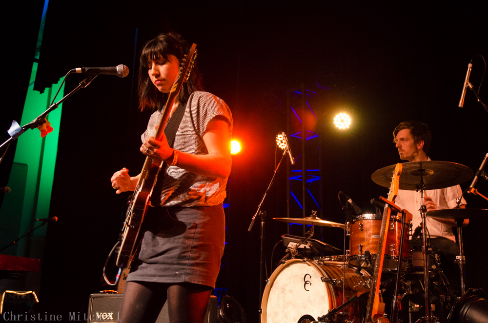 Seattle based Indie band Deep Sea Diver performs during the first night of Timbrrr. (Photo by Christine Mitchell)