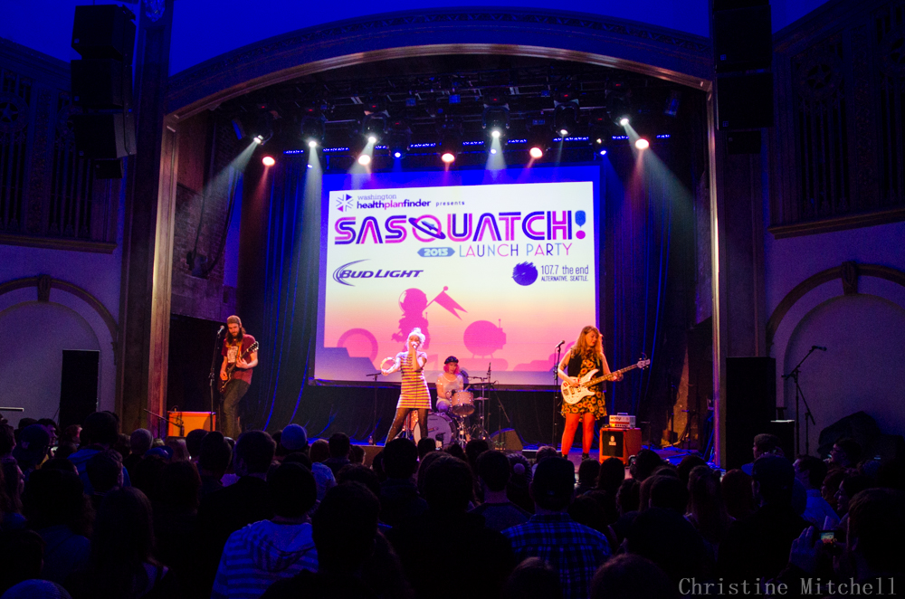 Tacocat at SASQUATCH! Launch Party (Photo by Christine Mitchell)