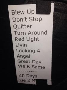 Jonny Lang Setlist