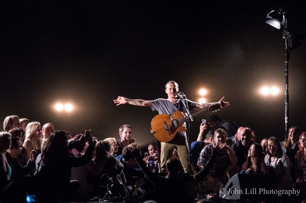 Damien Rice performs to a sold out McCaw Hall. (Photo by John Lill)