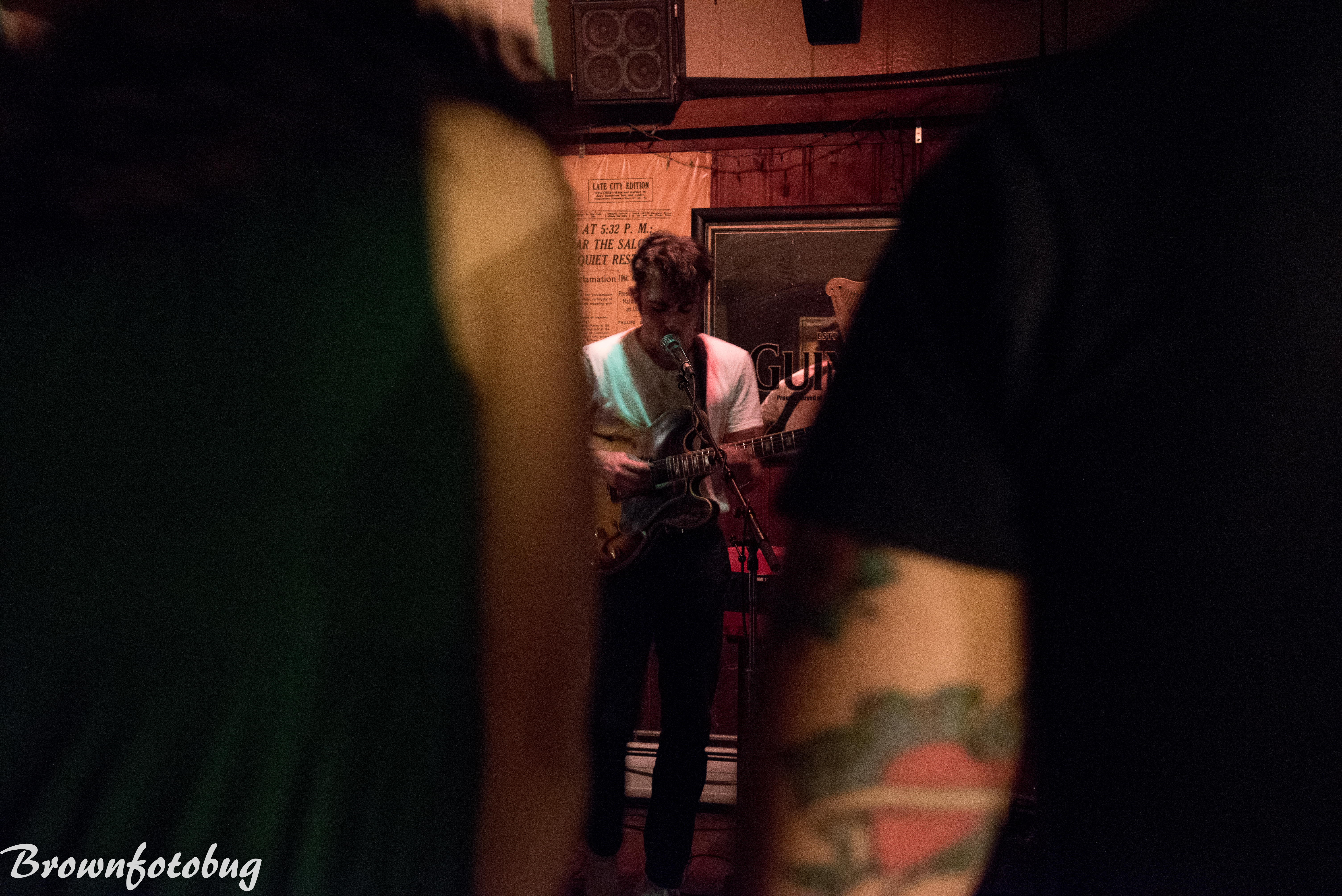 Iska Dhaaf at The Press Room Portsmouth NH  Photo by Arlene Brown