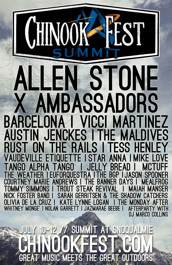 CHINOOK SUMMIT LINEUP POSTER FINAL
