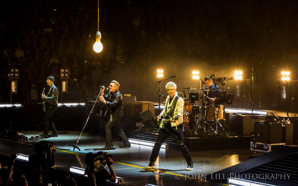 U2 perform at Rogers Arena in Vancouver B.C. (Photo by John Lill)