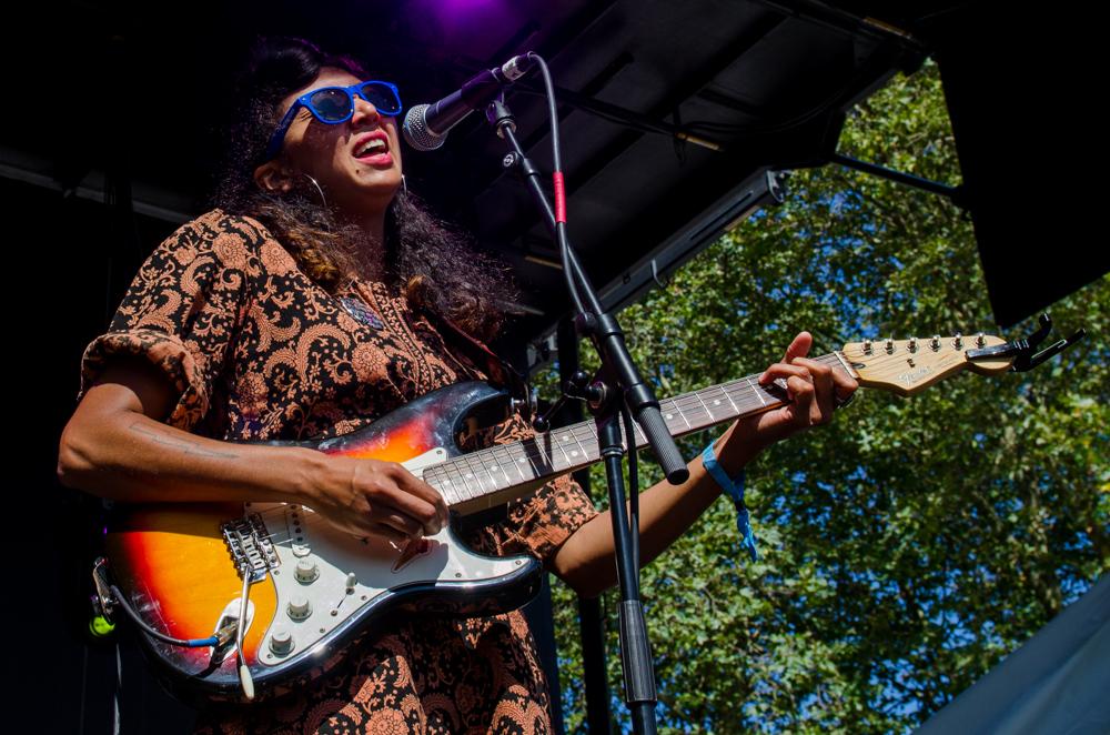 La Luz performs at Bumbershoot 2014 (Photo: Christine Mitchell)