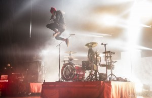 twenty one pilots at Paramount Theatre (Photo: Sunny Martini)