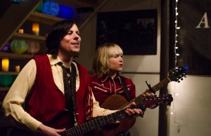 Ken Stringfellow and HOLLY at Seattle Secret Shows (Photo- Christine Mitchell)