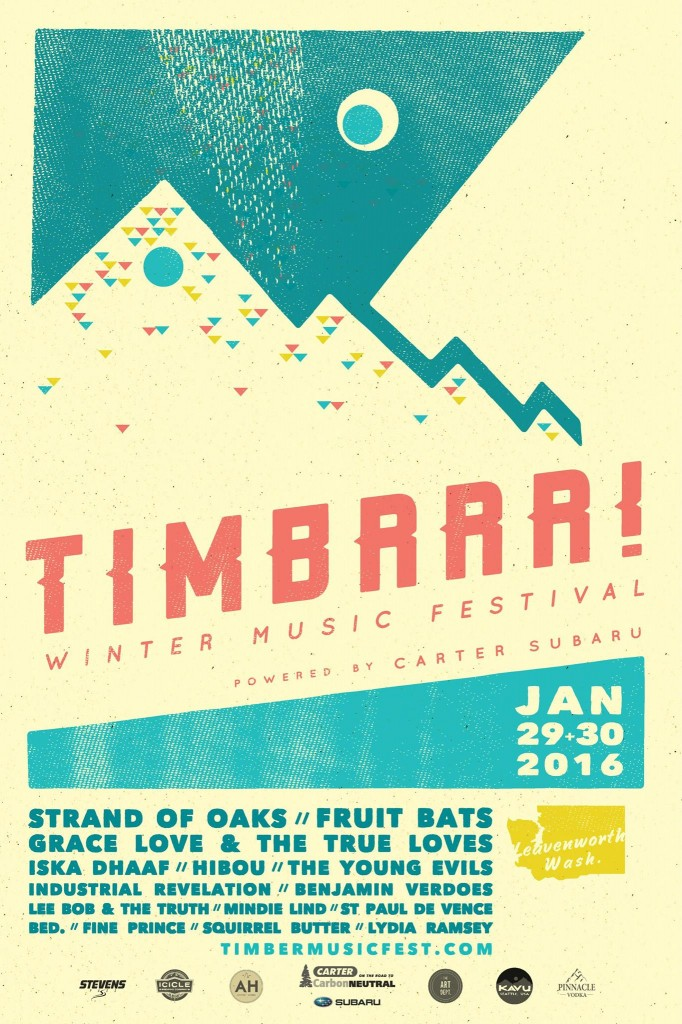 Timbrrr! Winter Music Festival in Leavenworth, WA on January 29-30, 2016