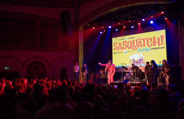 Charles Bradley at SASQUATCH! Launch Party (Photo: Christine Mitchell)
