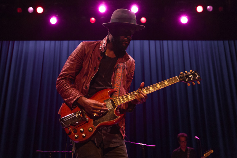 Gary Clark Jr. at the Moore Theater