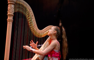 Joanna Newsom at The Paramount (Photo by Victoria Holt)