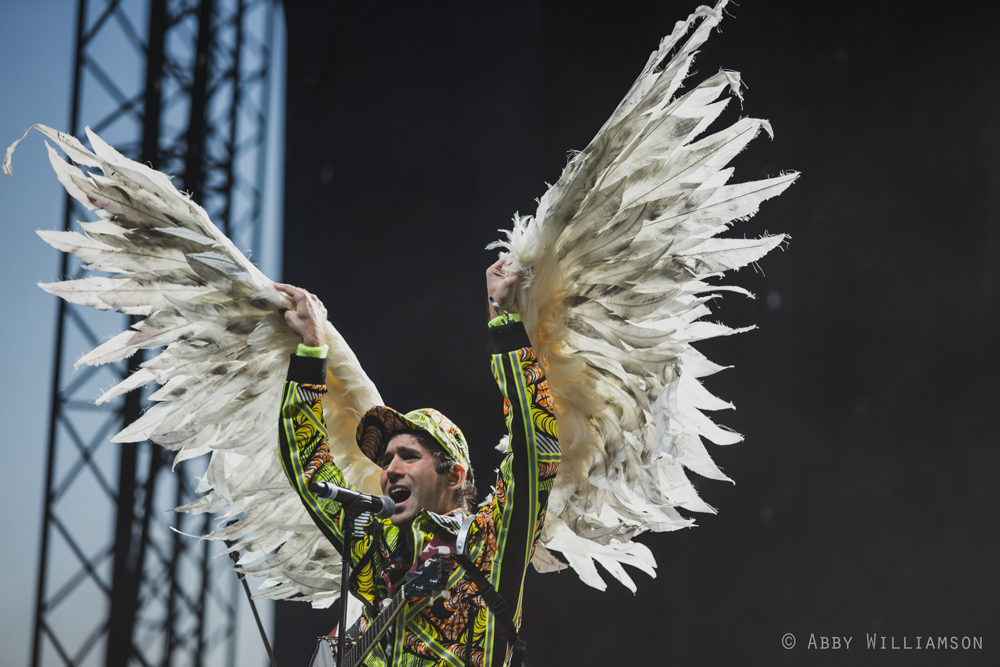 Sufjan Stevens at the Sasquatch Music Festival (Photo: Abby Williamson)
